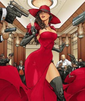 Carmen Sandiego.