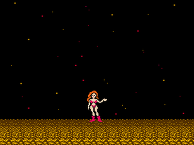 Samus Aran In A Bikini. The original Metroid game hit us with three ...