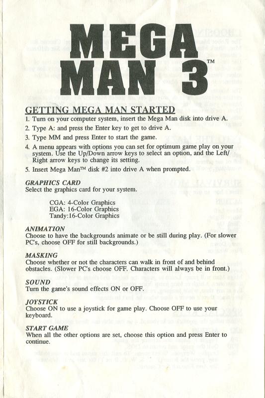 mega man 3 for pc instruction manual rh sydlexia com Carcassonne Game for the Instruction Manual For Wild Game Camera Instruction Manual
