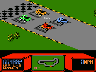 rcproam top 10 old school 80's racing games perezstart Rad Racer NES at n-0.co