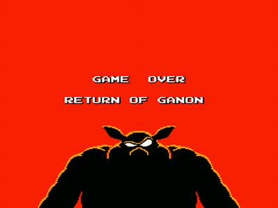 Test de Zelda II : The Adventure of Link. Return_of_ganon