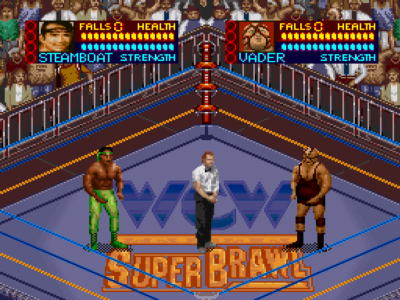 wrestling games snes
